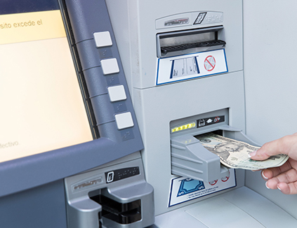 image - withdraw money from ATM