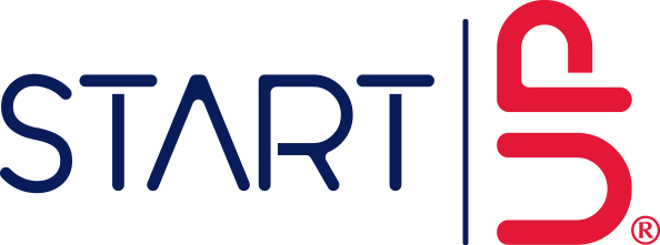 Start Up Logo Blue