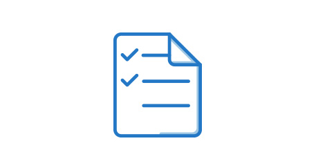 document icon with checkmarks on it